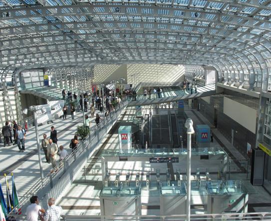Fassino 39 bugia nen 39 all 39 inaugurazione della stazione della - Porta susa stazione ...